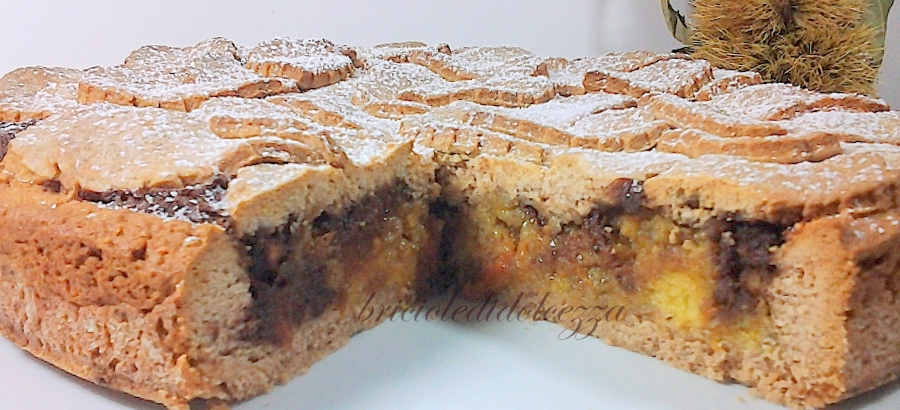 Crostata Cioccolato Zucca E Castagne