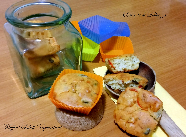 Muffins Salati vegetariani