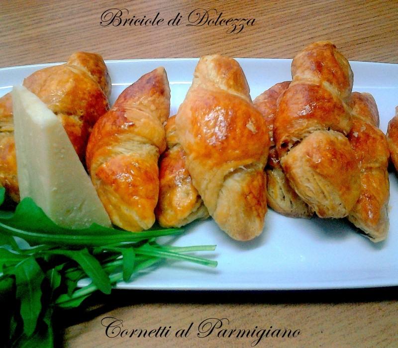 Cornetti al parmigiano