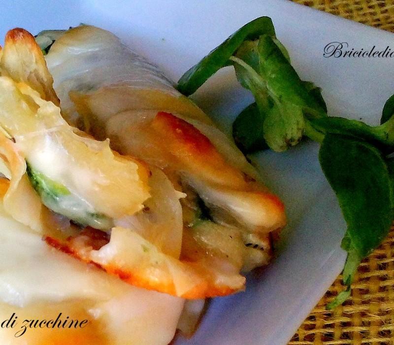 Saccottini di zucchine