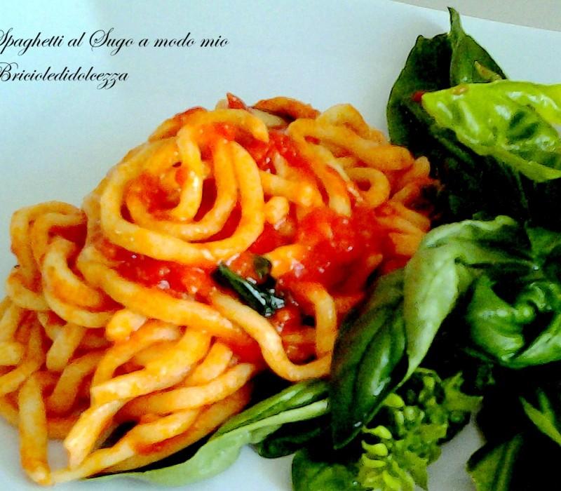 Spaghetti al sugo a modo mio