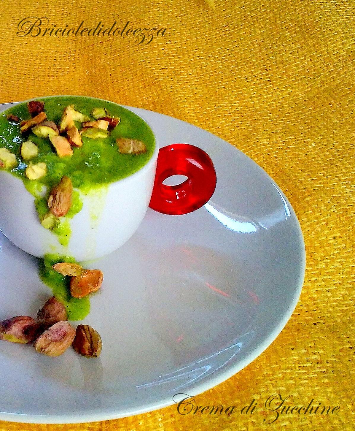 Crema di Zucchine al Pistacchio