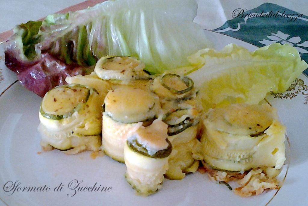 Sformato zucchine e provolone