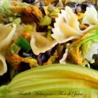 Farfalle Melanzane e Fiori di Zucca