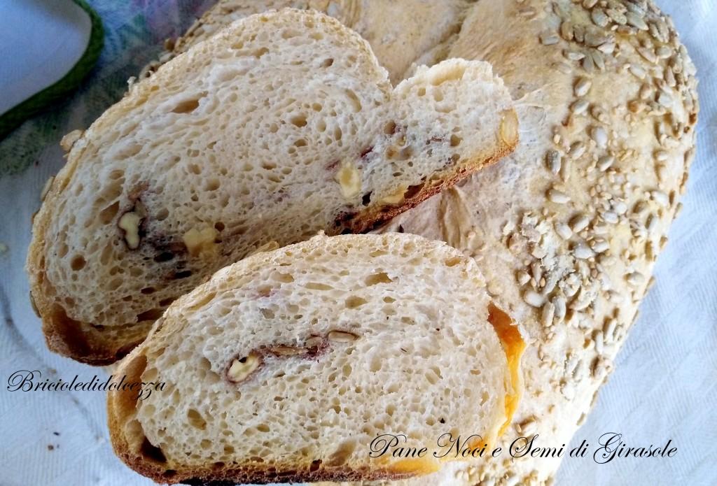 Pane alle noci e semi di girasole