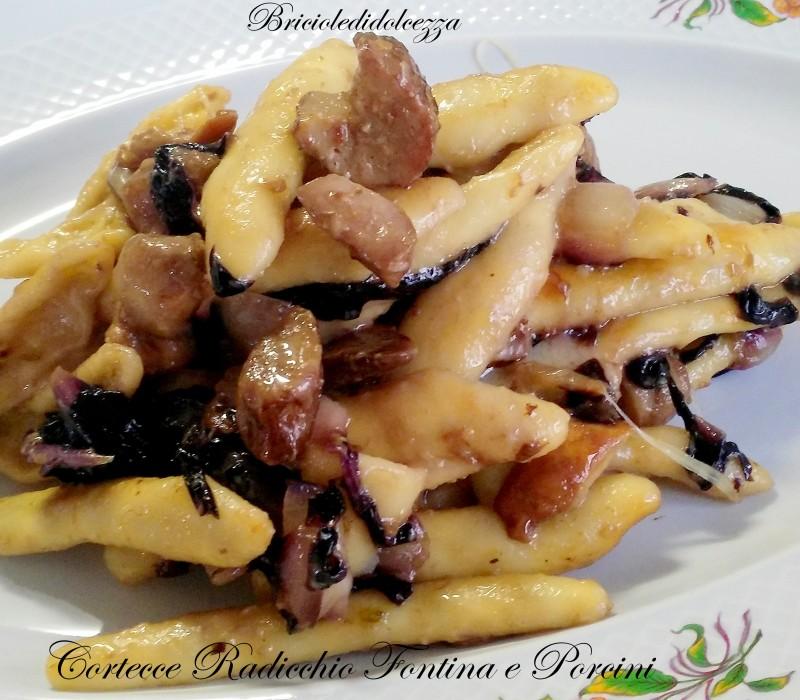 Cortecce Radicchio Fontina e Porcini