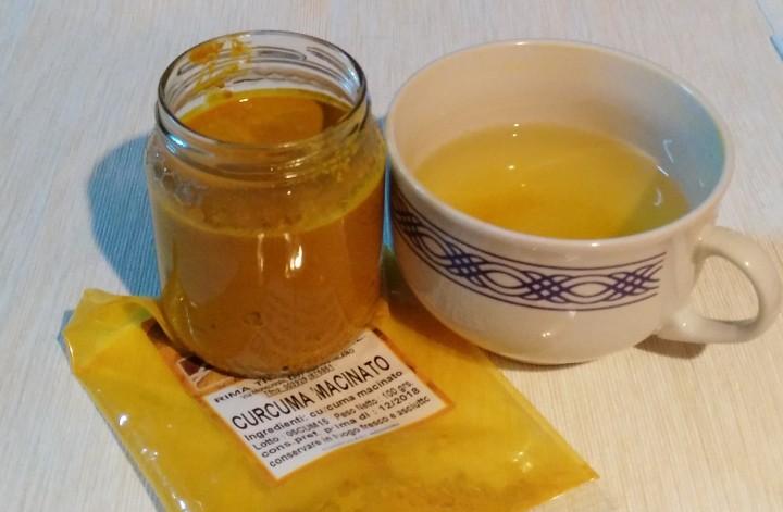 Golden Milk alla Curcuma
