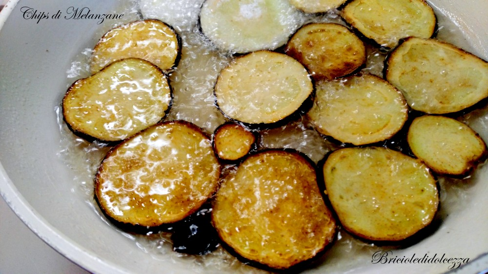 Chips di Melanzane Fritte