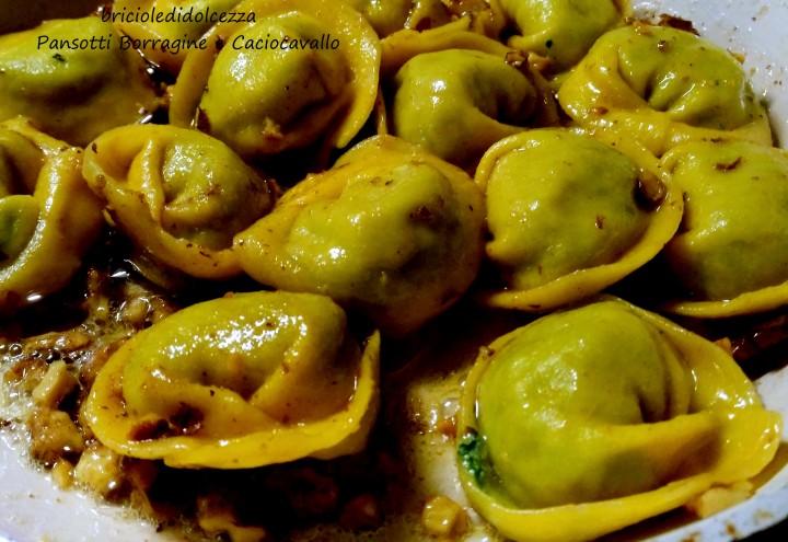 Pansotti Borragine e Caciocavallo