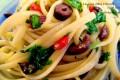 Linguine Olive e Rucola