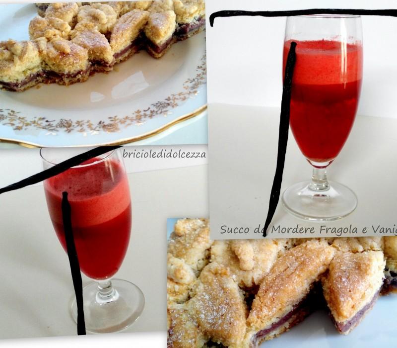 Succo da Mordere Fragola e Vaniglia