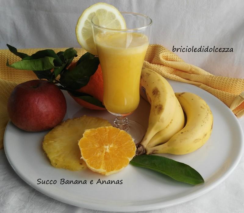 Succo Banana e Ananas