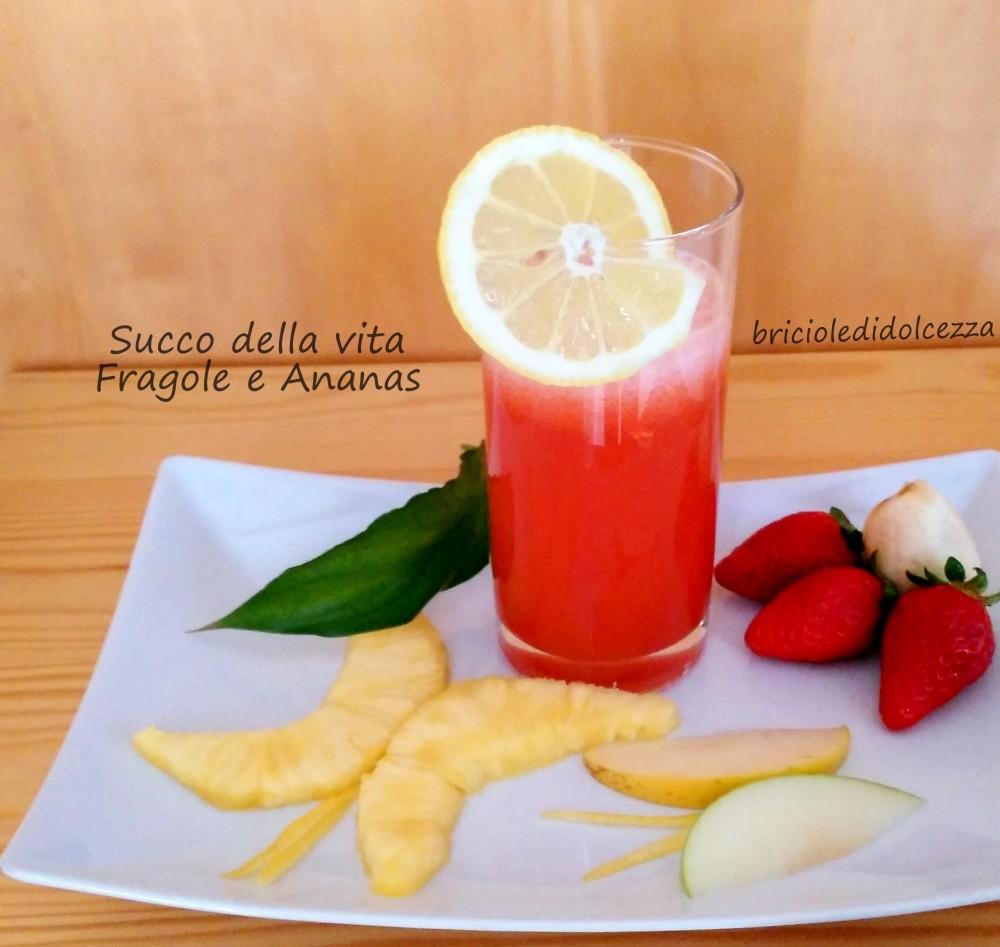 Succo della Vita Fragole e Ananas