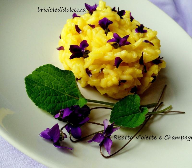 Risotto Violette e Champagne