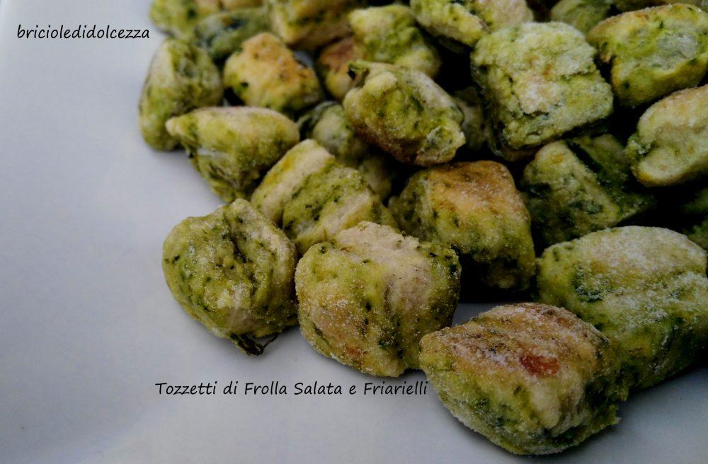 Tozzetti di Frolla Salata e Friarielli