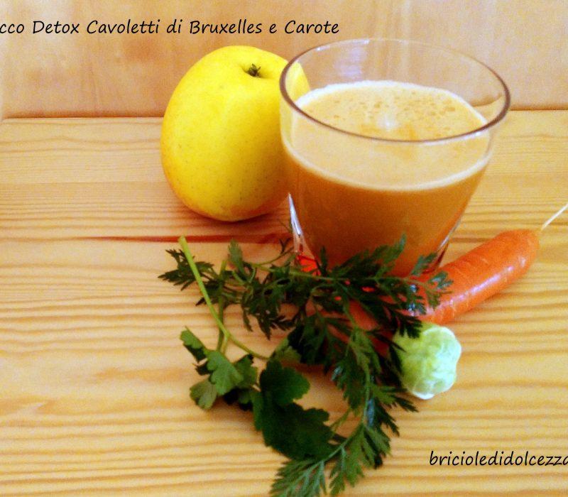 Succo Detox Cavoletti di Bruxelles e Carote