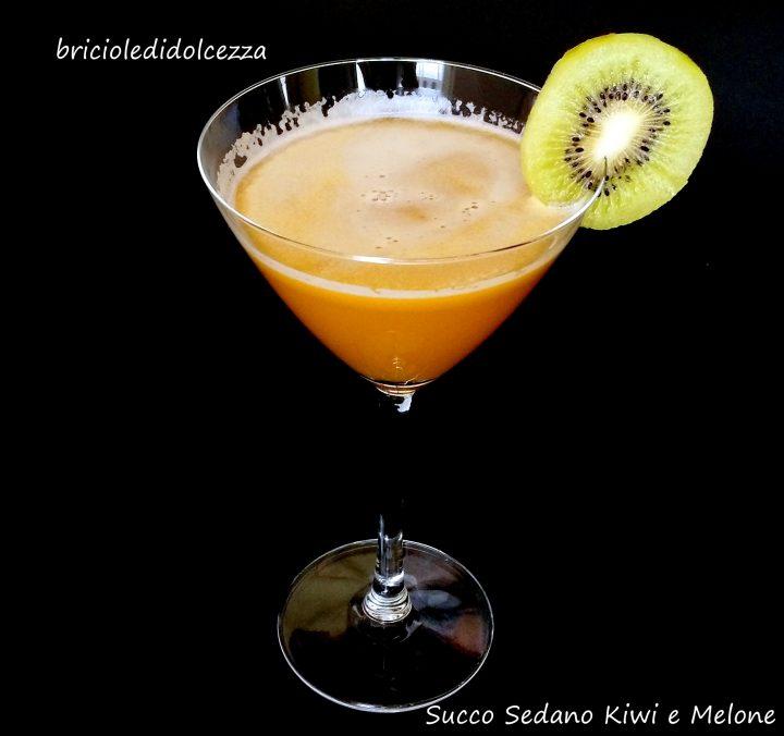 Succo Sedano Kiwi e Melone