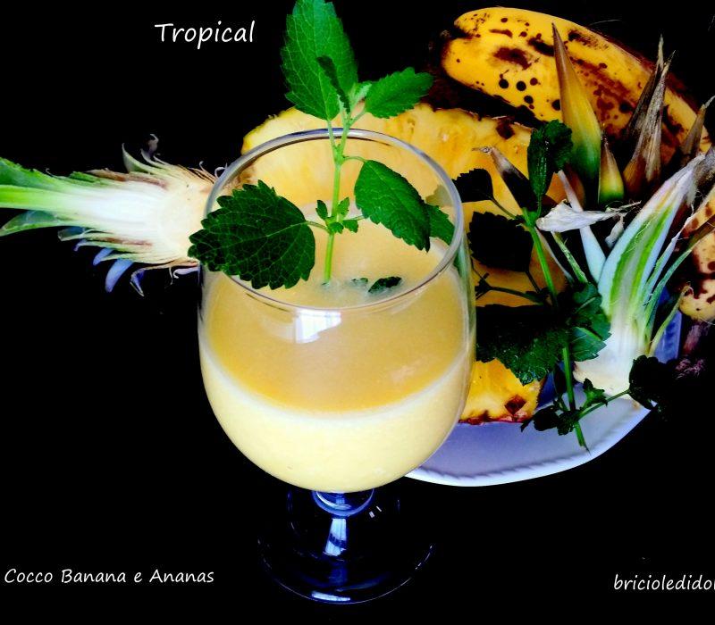 Tropical Succo Cocco Banana e Ananas