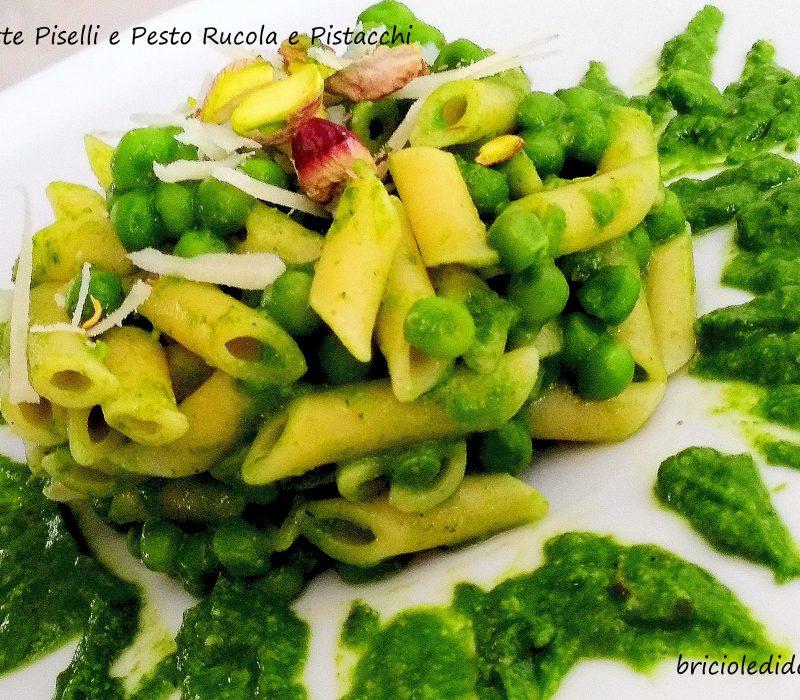 Pennette Piselli e Pesto ai Pistacchi