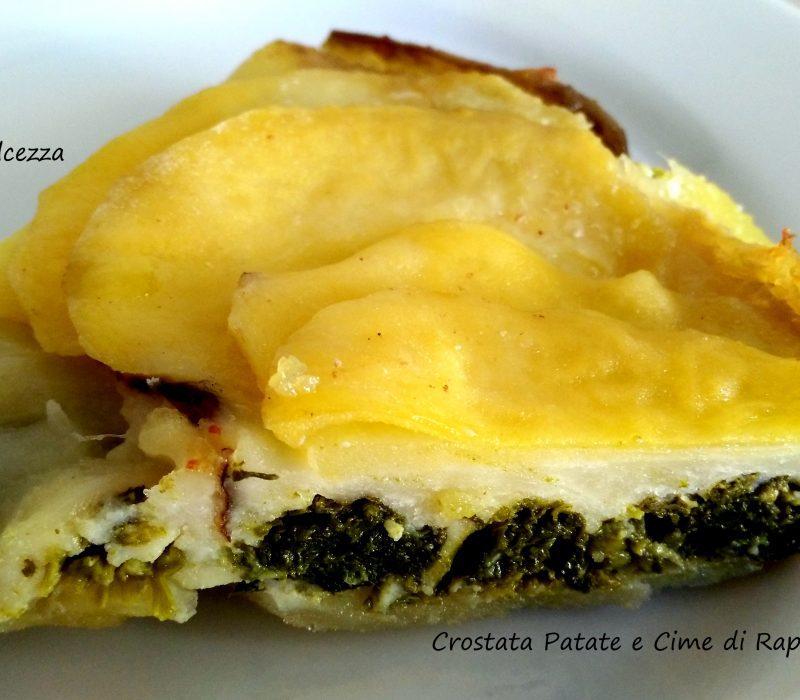 Crostata Patate e Cime di Rapa