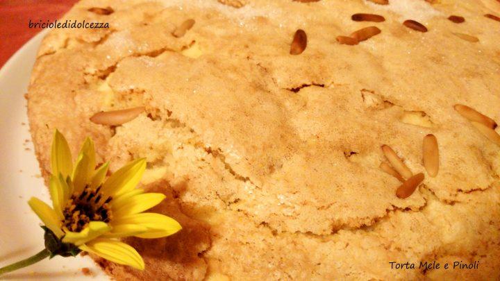 Torta Mele e Pinoli