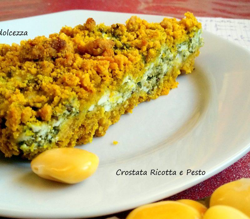 Crostata Ricotta e Pesto