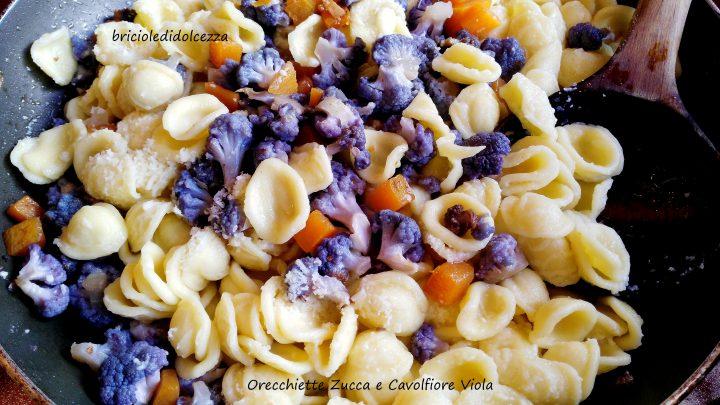 Orecchiette Zucca e Cavolfiore Viola