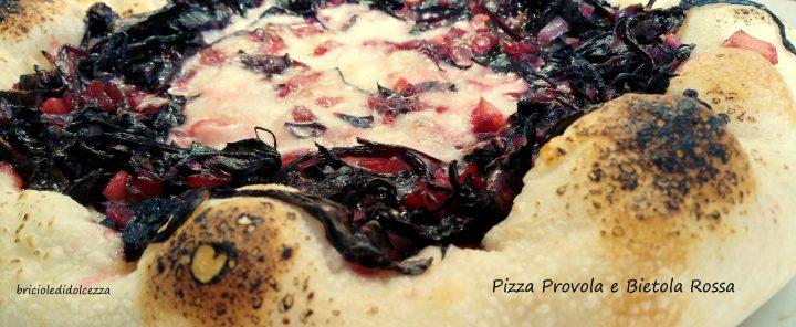Pizza Provola e Bietola Rossa