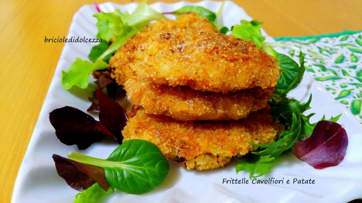 Frittelle Cavolfiori e Patate