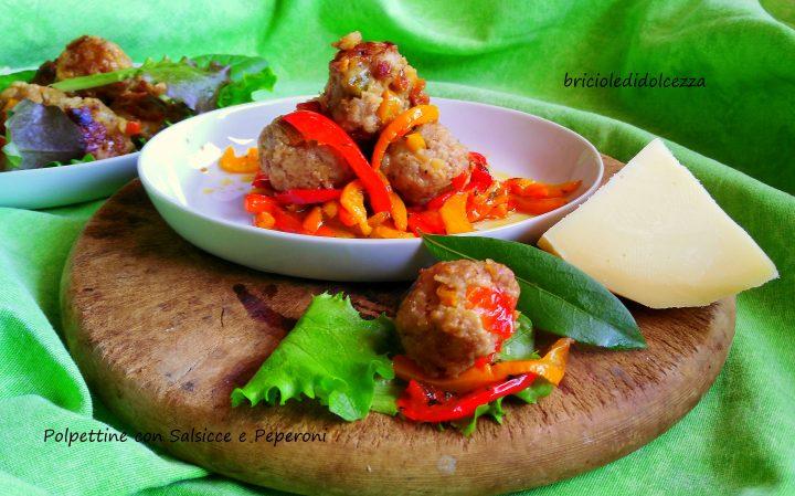 Polpettine con Salsicce e Peperoni
