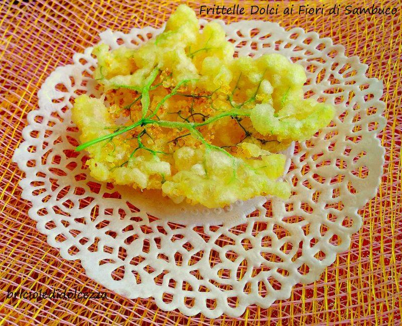 Frittelle Dolci ai Fiori di Sambuco