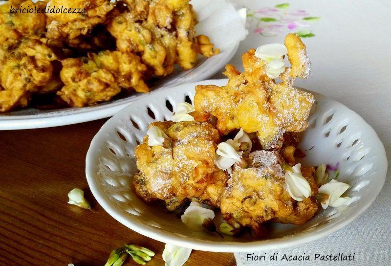 Frittelle Soffici di Fiori di Acacia