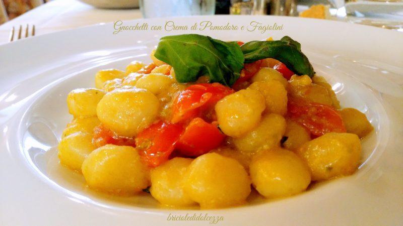 Gnocchetti con Crema di Pomodoro e Fagiolini