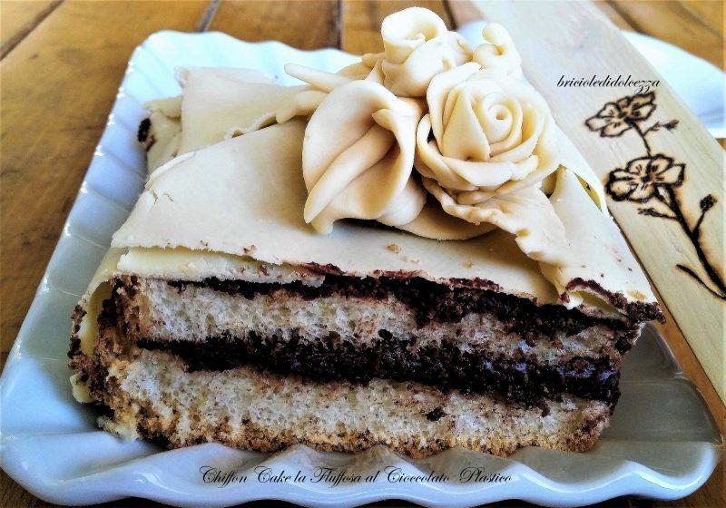 Chiffon Cake la Fluffosa al Cioccolato Plastico
