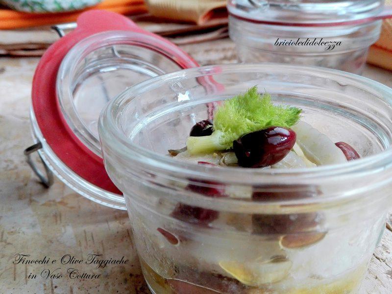 Finocchi e Olive Taggiasche in Vaso Cottura