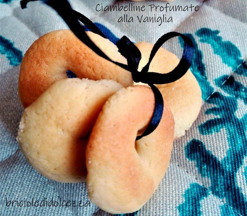 Ciambelline Profumate alla Vaniglia