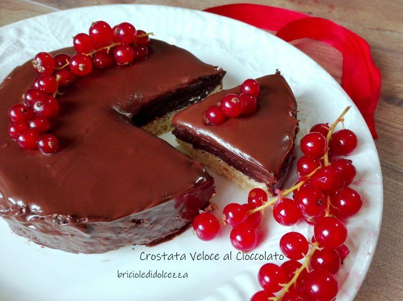 Crostata Veloce al Cioccolato