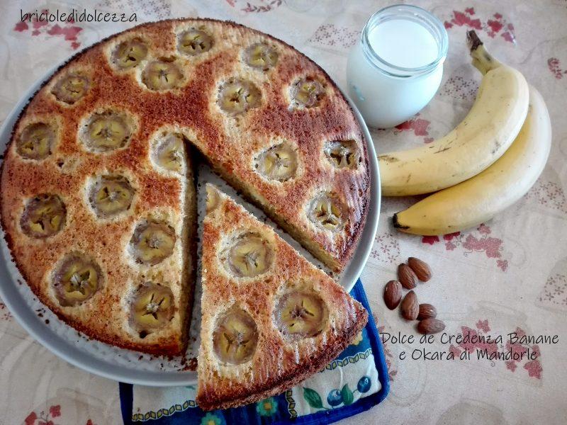 Dolceda Credenza Banane e Okara di Mandorle