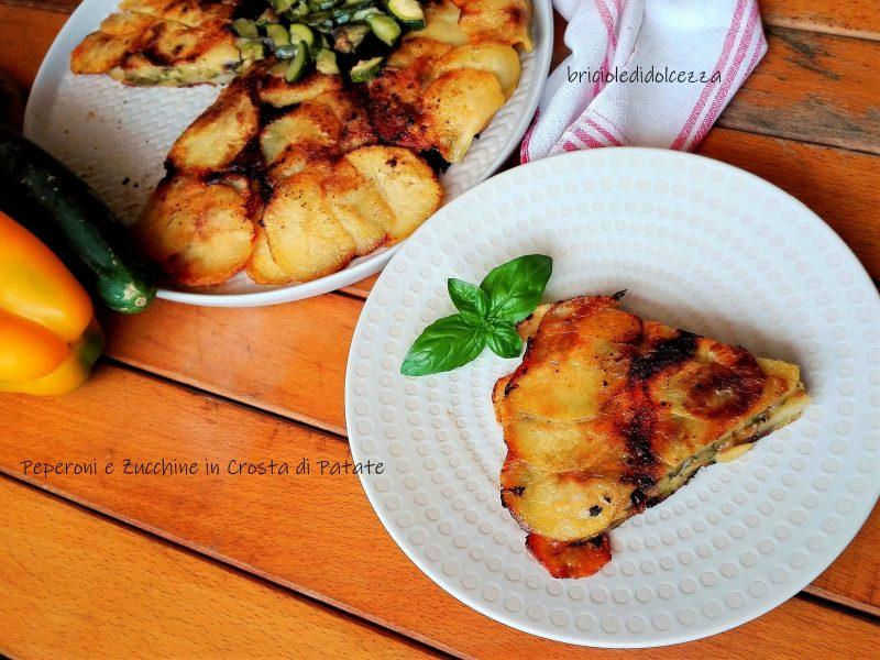 Peperoni e Zucchine in Crosta di Patate