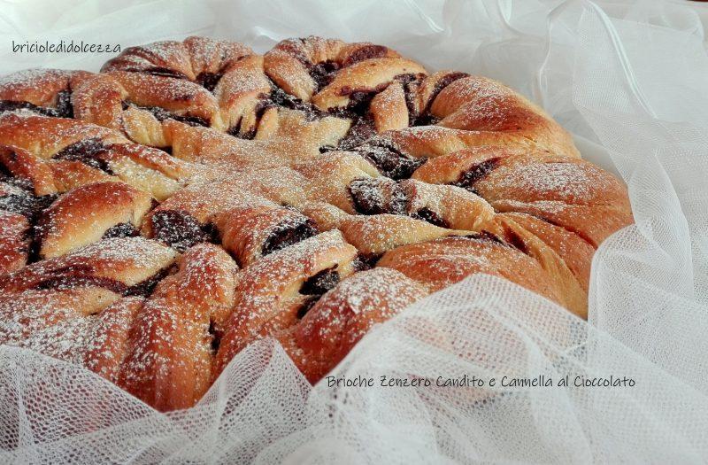 Brioche Zenzero Candito e Cannella al Cioccolato