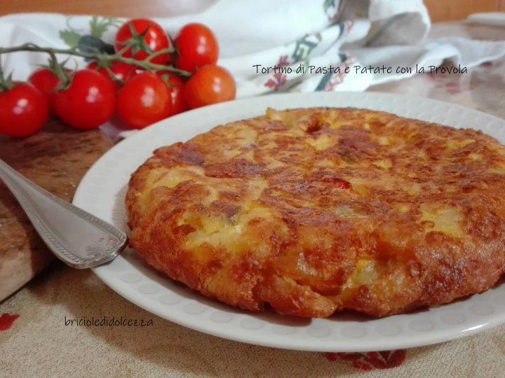 Tortino di Pasta e Patate con la Provola
