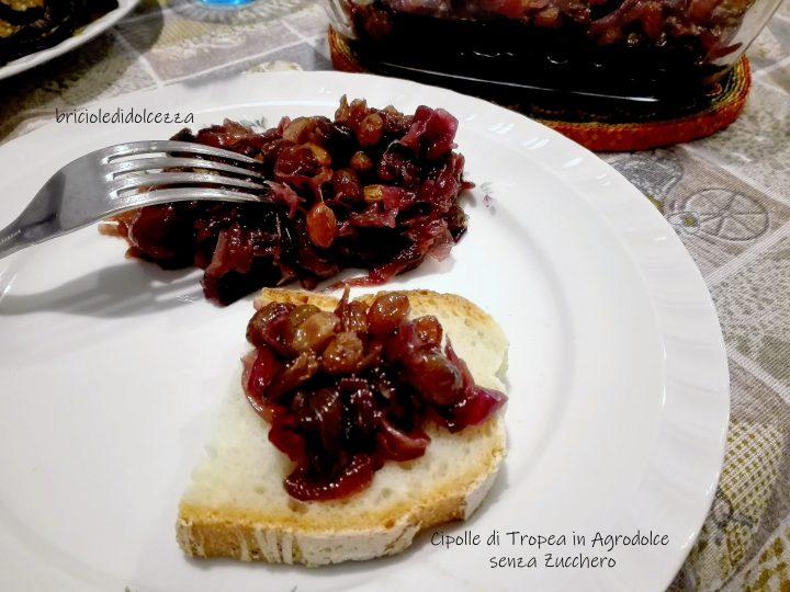 Cipolle Rosse di Tropea in Agrodolce senza Zucchero
