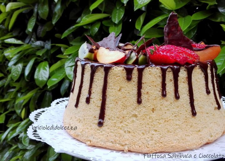 Fluffosa Sambuca e Cioccolato