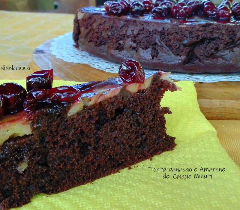 Torta Banacao e Amarene dei Cinque Minuti