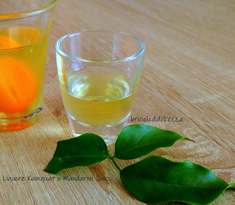 Liquore kumquat o Mandarini Cinesi