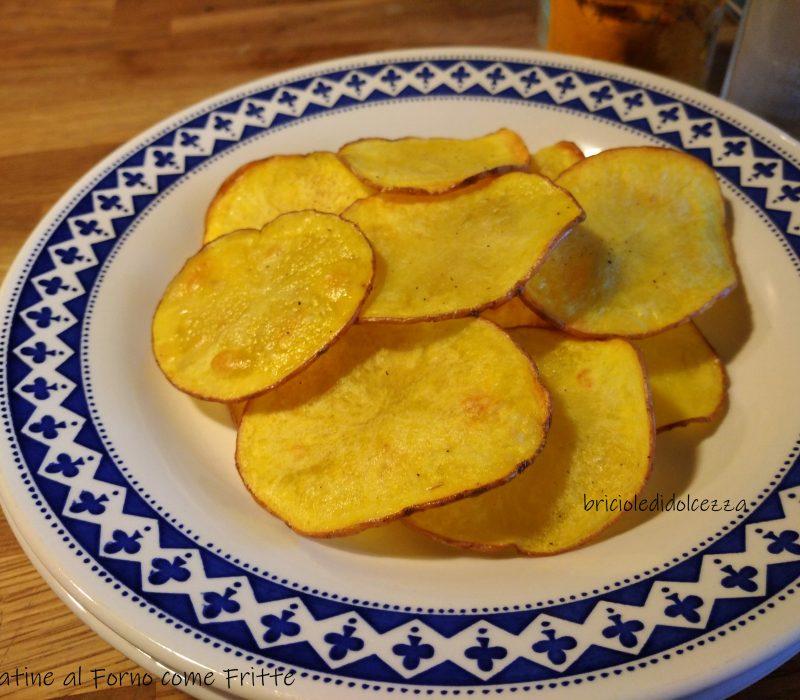 Patatine al Forno come Fritte