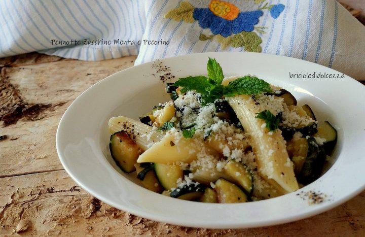 Pennotte Zucchine Menta e Pecorino