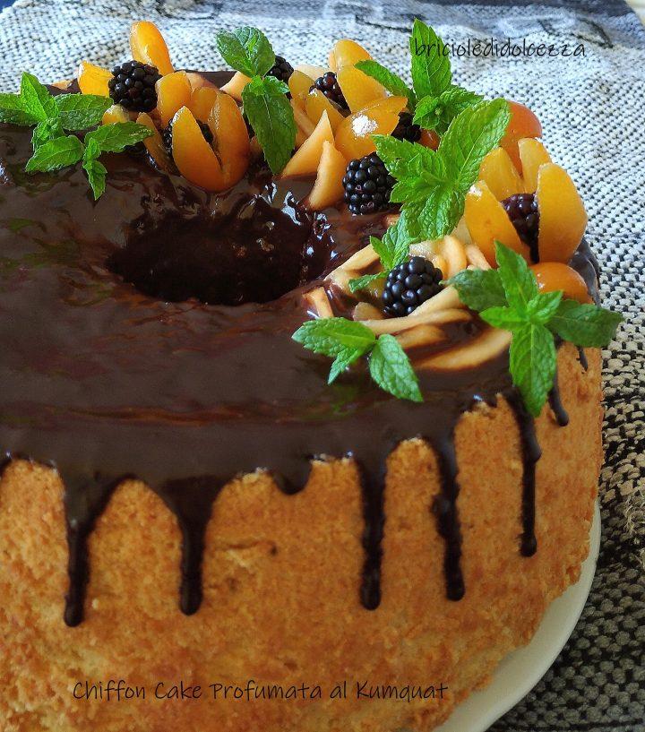 Chiffon Cake Profumata al Kumquat