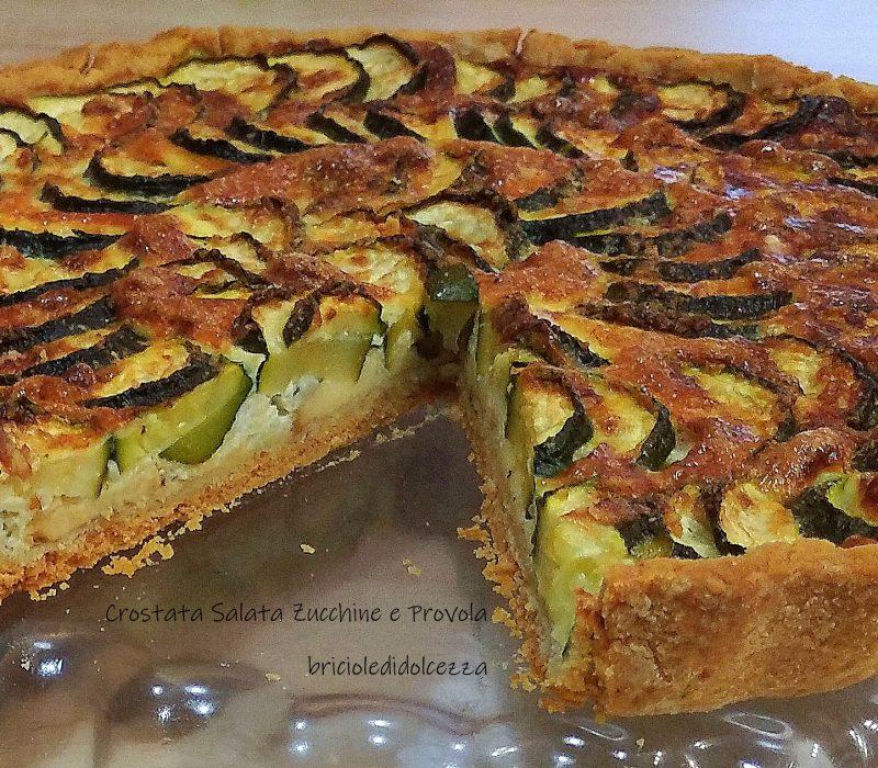 Crostata Salata Zucchine e Provola