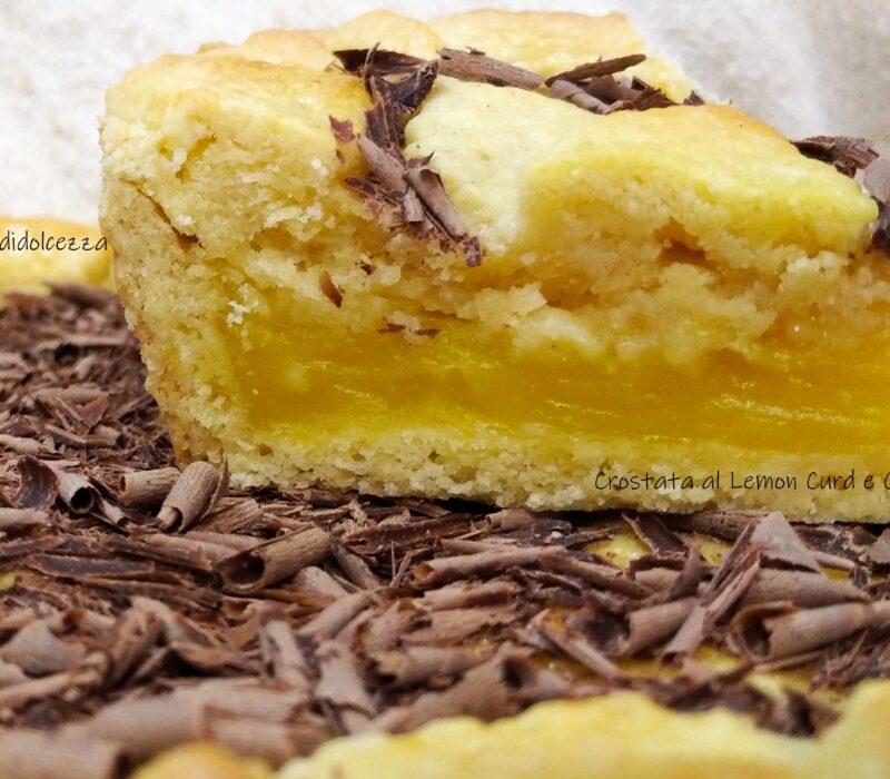 Crostata al Lemon Curd e Cioccolato